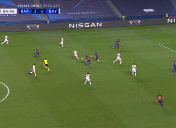 Goal: FC Barcelone 2 - 7 Bayern Munich 85' Coutinho