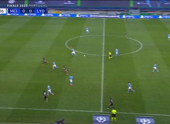 Goal: Manchester City 0 - 1 Lyon 24' Cornet