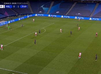 Goal: RB Leipzig 0 - 2 Paris SG 42' Di Maria