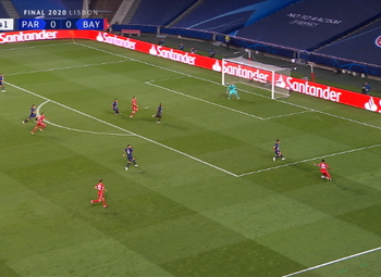 Goal: Paris SG 0 - 1 Bayern München 59' Coman