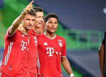 Samenvatting Paris SG - Bayern München