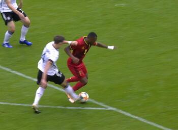 Goal: België (U21) 3 - 1 Duitsland (U21)