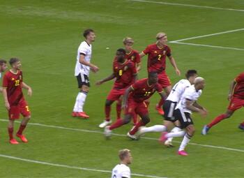 Goal: België (U21) 1 - 1 Duitsland (U21)