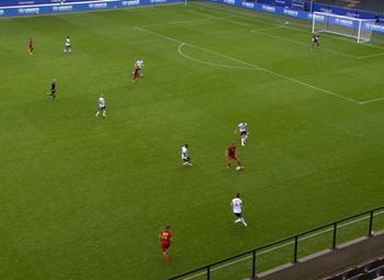 Goal: België (U21) 4 - 1 Duitsland (U21)