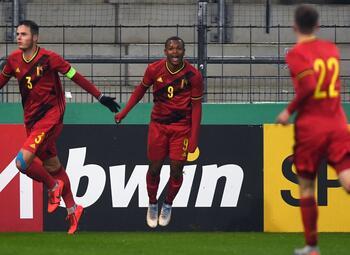 Samenvatting België (U21) - Duitsland (U21)
