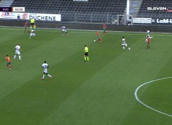 Speeldag 2 Sporting Charleroi - KV Oostende (1-0)