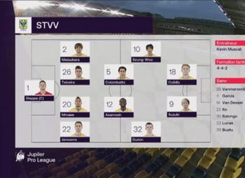 Speeldag 3 STVV - KV Oostende (0-0)