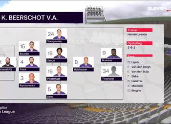 Speeldag 3 Club Brugge - Beerschot (0-1)