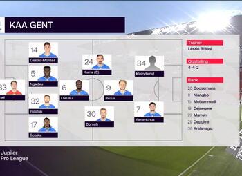 Speeldag 3 Royal Antwerp - KAA Gent (1-0)