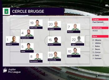 Speeldag 3 KV Mechelen - Cercle Brugge (2-3)