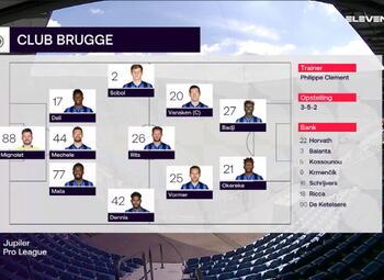Speeldag 4 KRC Genk - Club Brugge (1-2)