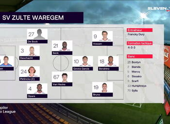 Speeldag 4 Moeskroen - SV Zulte Waregem (0-1)