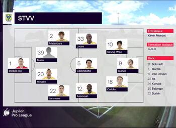 Speeldag 4 Eupen - STVV (1-1)