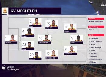 Speeldag 4 KAA Gent - KV Mechelen (1-0)