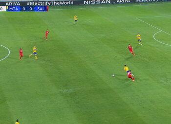 Goal: Maccabi Tel Aviv 1 - 0 Red Bull Salzburg