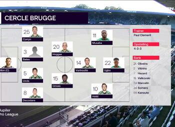 Journée 5 Anderlecht - Cercle Bruges (2-0)