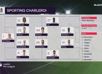 Speeldag 6 Charleroi - Beerschot (3-1)