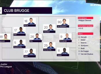 Speeldag 6 Zulte Waregem - Club Brugge (0-6)