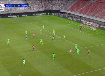 Goal: Olympiakos Piraeus 2 - 0 Omonia Nicosia 90', El Arabi