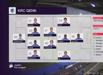 Speeldag 7 KRC Genk - KV Oostende (2-2)