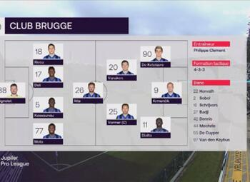 Journée 7 FC Bruges - Cercle Bruges (2-1)