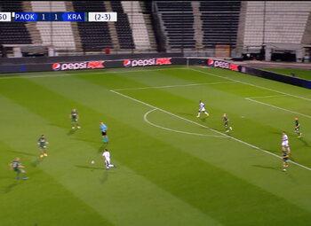 Goal: PAOK Salonique 1 - 2 Krasnodar 78' Cabella