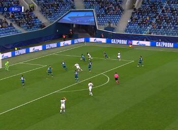 Goal: Zenit 0 - 1 FC Bruges 63', Bonaventure