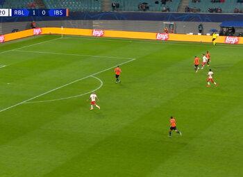 Goal: RB Leipzig 2 - 0 Istanbul BB 20', Angelino
