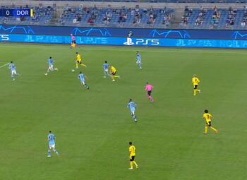 Goal: Lazio Rome 2 - 1 Borussia Dortmund 71', Haaland