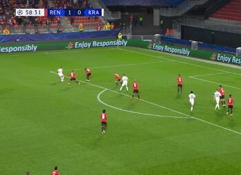 Goal: Rennes 1 - 1 Krasnodar 59', Ramirez