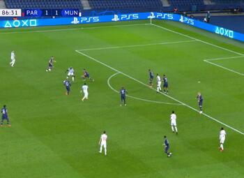 Goal: Paris SG 1 - 2 Manchester United 87', Rashford