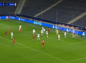 Goal: Red Bull Salzbourg 1 - 1 Lokomotiv Moscou 45' Szoboszlai