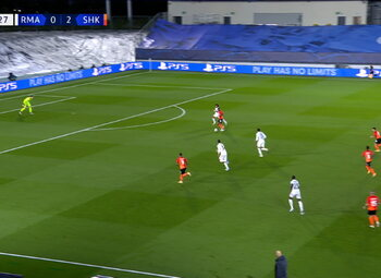 Goal: Real Madrid 0 - 3 Sh Donetsk 42' Solomon