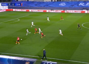 Goal: Real Madrid 0 - 1 Sh Donetsk 29' Tetê