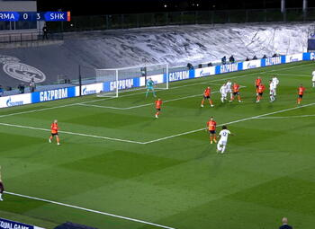 Goal: Real Madrid 1 - 3 Sh Donetsk 54' Modric