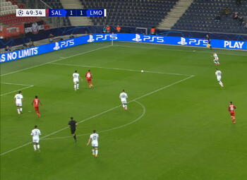 Goal: Red Bull Salzbourg 2 - 1 Lokomotiv Moscou 50' Junuzovic