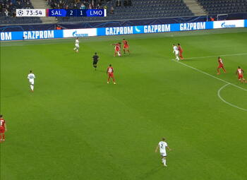 Goal: Red Bull Salzbourg 2 - 2 Lokomotiv Moscou 75' Lisakovich