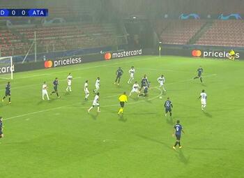 Goal: Midtjylland 0 - 1 Atalanta Bergame 26' Zapata