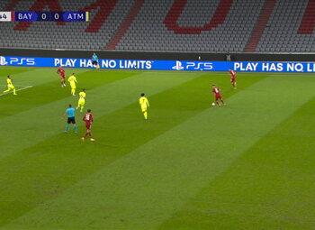 Goal: Bayern Munich 1 - 0 Atlético Madrid 28' Coman