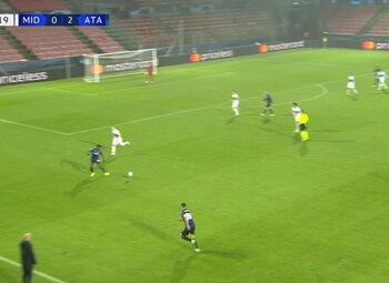 Goal: Midtjylland 0 - 3 Atalanta Bergame 42' Muriel