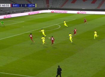 Goal: Bayern Munich 2 - 0 Atlético Madrid 41' Goretzka