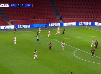 Own Goal: Ajax Amsterdam 0 - 1 Liverpool 35' Tagliafico