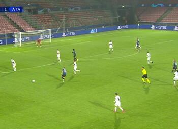 Goal: Midtjylland 0 - 2 Atalanta Bergame 36' Gómez