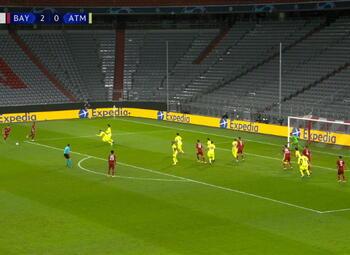 Goal: Bayern Munich 3 - 0 Atlético Madrid 66' Tolisso