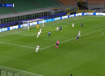 Goal: Inter Milan 1 - 0 Borussia M'Gladbach 49' Lukaku