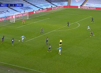 Goal: Manchester City 3 - 1 FC Porto 73' Ferrán Torres