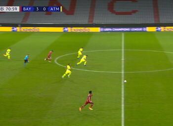 Goal: Bayern Munich 4 - 0 Atlético Madrid 72' Coman