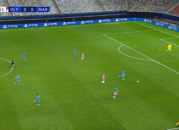Goal: Olympiakos 1 - 0 Marseille 90'+1 Ahmed Hassan
