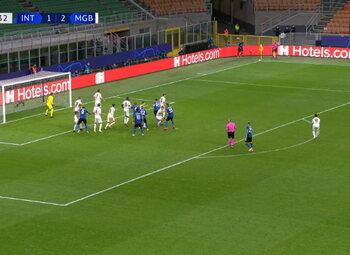 Goal: Inter Milan 2 - 2 Borussia M'Gladbach 90' Lukaku