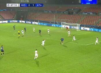 Goal: Midtjylland 0 - 4 Atalanta Bergame 89' Miranchuk
